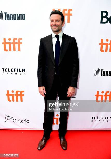 Bradley Cooper attends the 'A Star Is Born' premiere during 2018 Toronto International Film Festival at Roy Thomson Hall on September 9 2018 in...
