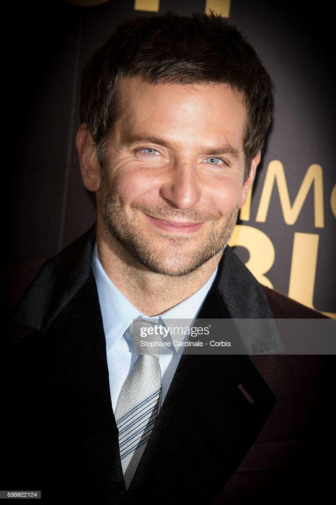 Bradley Cooper attends the 'American Bluff' Paris Premiere at Cinema UGC Normandie, in Paris.