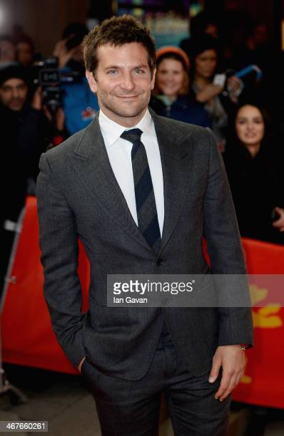 Bradley Cooper attends the 'American Hustle' premiere during 64th Berlinale International Film Festival at Friedrichstadtpalast on February 7 2014 in...