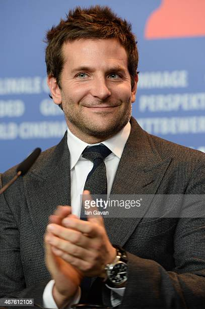 Bradley Cooper attends the 'American Hustle' press conference during 64th Berlinale International Film Festival at Grand Hyatt Hotel on February 7...
