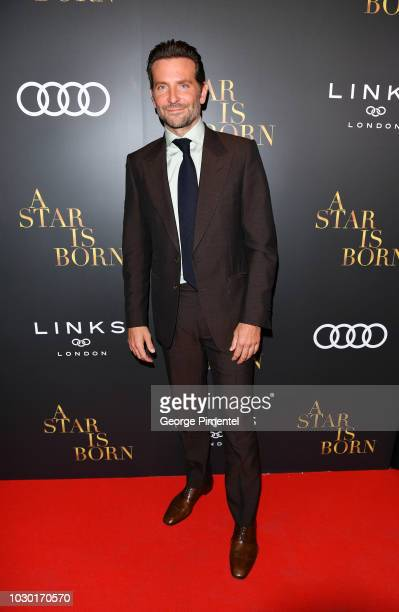 Bradley Cooper attends the Audi Canada And Links Of London CoHosted PostScreening Event For 'A Star Is Born' During The Toronto International Film...