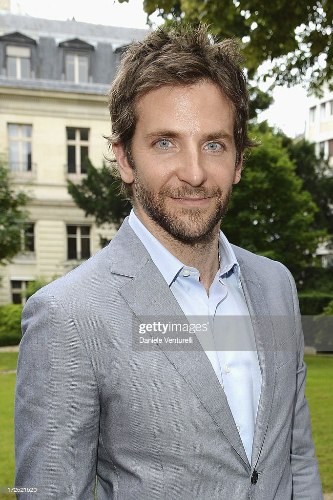 Bradley Cooper attends the Bulgari Diva Event at Hotel Potocki on July 2, 2013 in Paris, France.
