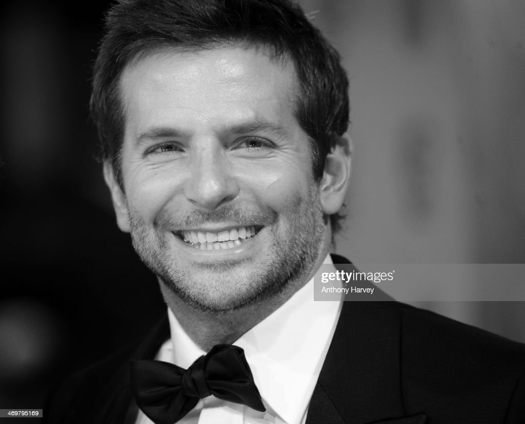 Bradley Cooper attends the EE British Academy Film Awards 2014 at The Royal Opera House on February 16, 2014 in London, England.