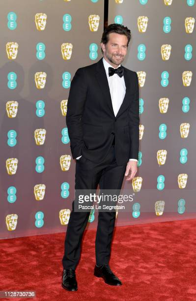 Bradley Cooper attends the EE British Academy Film Awards at Royal Albert Hall on February 10 2019 in London England