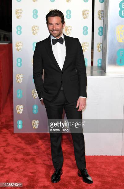 Bradley Cooper attends the EE British Academy Film Awards at Royal Albert Hall on February 10, 2019 in London, England.