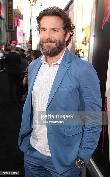 Bradley Cooper attends the premiere Of Warner Bros Pictures' 'War Dogs' at TCL Chinese Theatre on August 15 2016 in Hollywood California