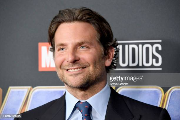 Bradley Cooper attends the world premiere of Walt Disney Studios Motion Pictures Avengers Endgame at the Los Angeles Convention Center on April 22...