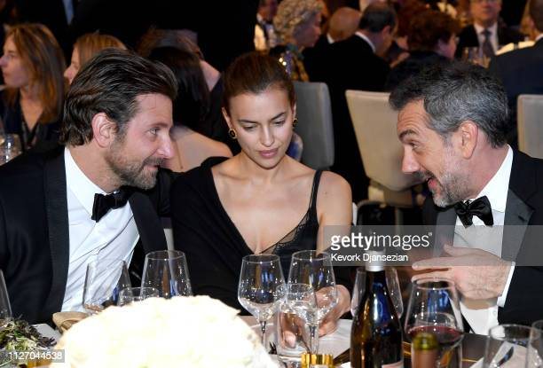Bradley Cooper Irina Shayk and Todd Phillips attend the 71st Annual Directors Guild Of America Awards at The Ray Dolby Ballroom at Hollywood Highland...