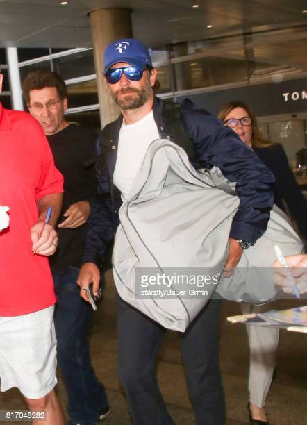Bradley Cooper is seen at LAX on July 17 2017 in Los Angeles California