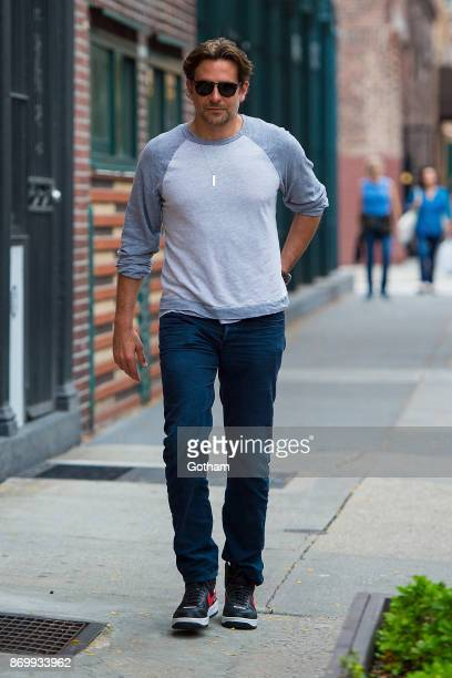 Bradley Cooper is seen in the West Village on November 3 2017 in New York City