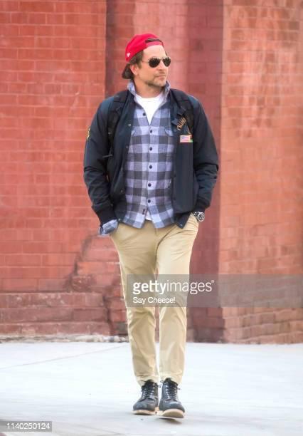 Bradley Cooper is seen on April 03 2019 in New York City