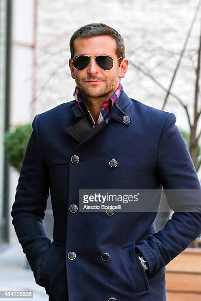 Bradley Cooper seen arriving at his Manhattan hote on December 7 2013 in New York City