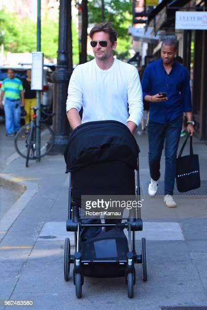 Bradley Cooper seen in Manhattan on May 25 2018 in New York City