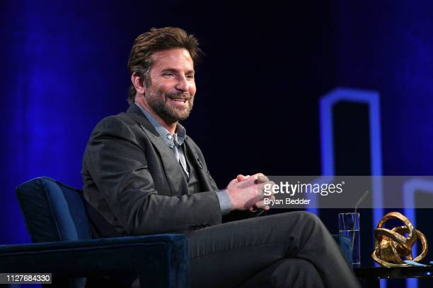 Bradley Cooper speaks onstage during Oprah's SuperSoul Conversations at PlayStation Theater on February 05 2019 in New York City