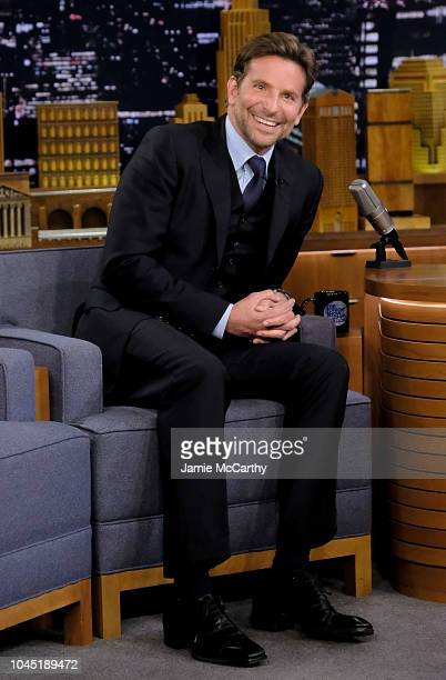 Bradley Cooper visits 'The Tonight Show Starring Jimmy Fallon' at Rockefeller Center on October 3 2018 in New York City