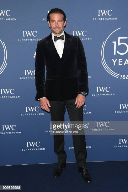 Bradley Cooper walks the red carpet for IWC Schaffhausen at SIHH 2018 on January 16 2018 in Geneva Switzerland