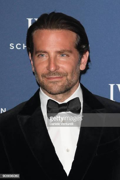 Bradley Cooper walks the red carpet for IWC Schaffhausen at SIHH 2018 on January 16 2018 in Geneva Switzerland
