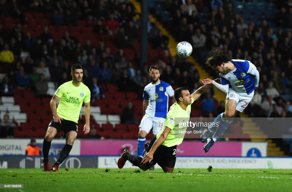 Blackburn Rovers v Peterborough United - Sky Bet League One