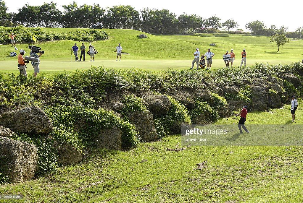 PGA TOUR - WGC - 2006 Barbados World Cup - Second Round : News Photo
