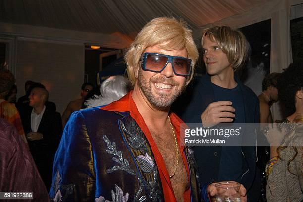 Bradley Garlock attends Allison Sarofim's 2005 Halloween Party at West Village on October 29, 2005 in New York City.