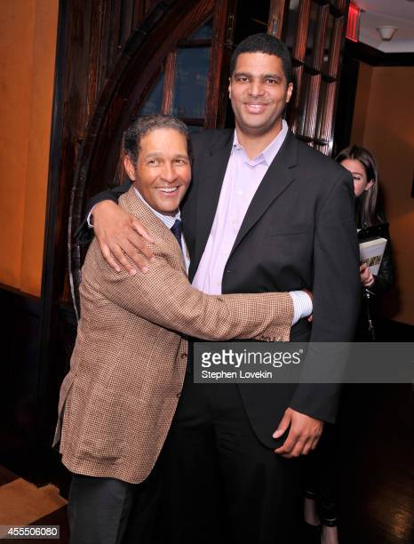 Bradley Gumbel and journalist Bryant Gumbel attend UNICHEF Book Party at The Lamb's Club on September 15 2014 in New York City