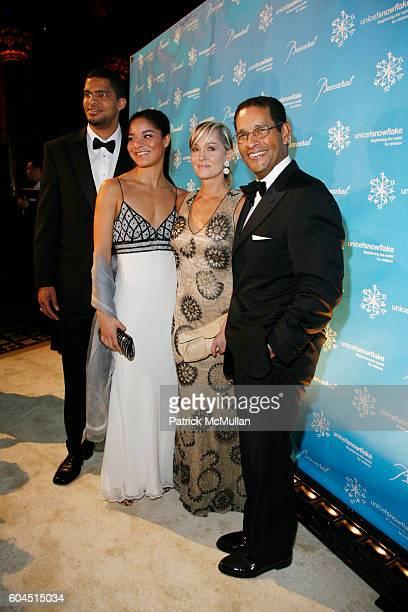 Bradley Gumbel Jillian Gumbel Hilary Gumbel and Bryant Gumbel attend Baccarat Presents The UNICEF Snowflake Ball Hosted by Byrant Gumbel at Cipriani...