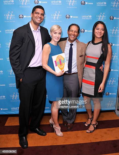 Bradley Gumbel UNICEF author Hilary Gumbel journalist Bryant Gumbel and Jillian Gumbel attend UNICHEF Book Party at The Lamb's Club on September 15...