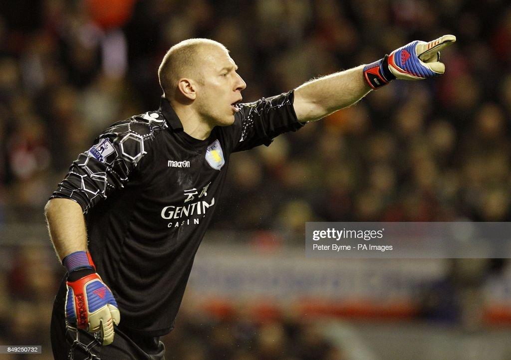 Soccer - Barclays Premier League - Liverpool v Aston Villa - Anfield : News Photo