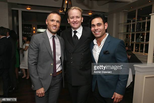 Bradley Jakeman and Eric Podwall attend the Dom Perignon and Eric Podwall celebration of the evening before The White House Correspondents' Dinner at...