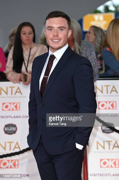 Bradley Johnson attends the National Television Awards 2021 at The O2 Arena on September 09, 2021 in London, England.