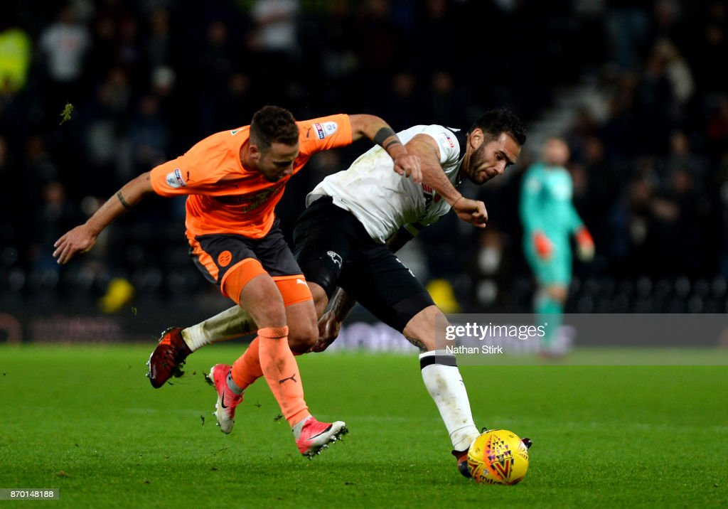 Derby County v Reading - Sky Bet Championship