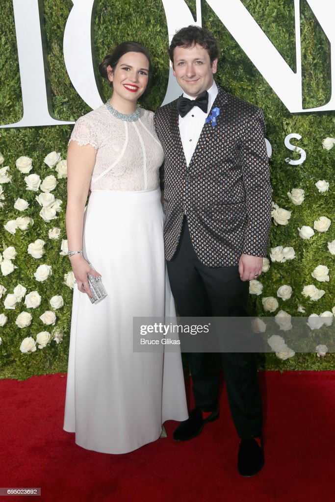 Bradley King (R) attends the 71st Annual Tony Awards at Radio City Music Hall on June 11, 2017 in New York City.