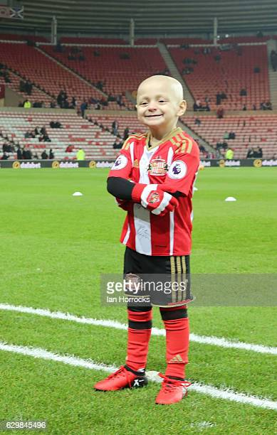 Bradley Lowery during the Premier League match between Sunderland and Chelsea at Stadium of Light on December 14 2016 in Sunderland England