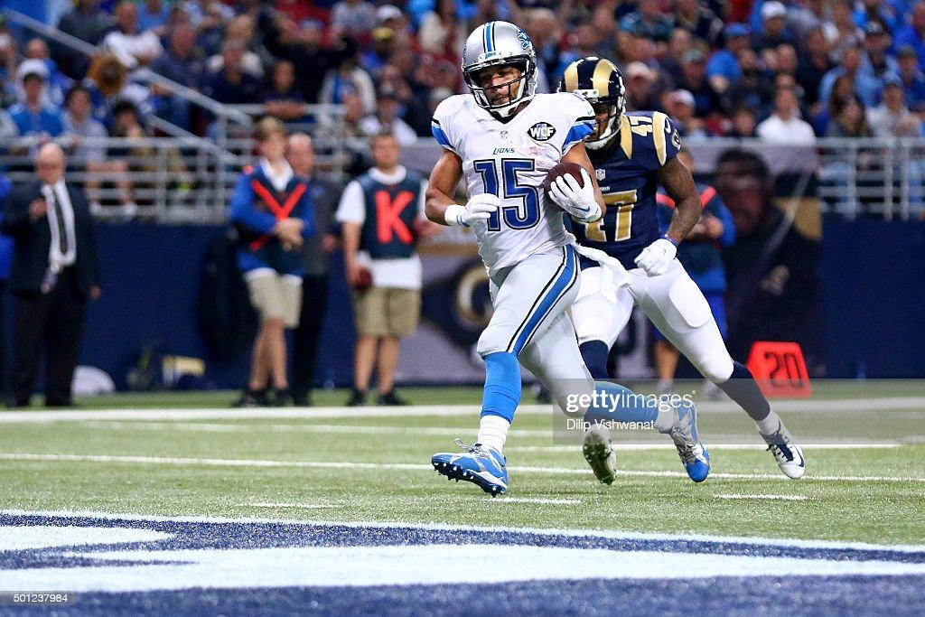 Detroit Lions v St Louis Rams : News Photo