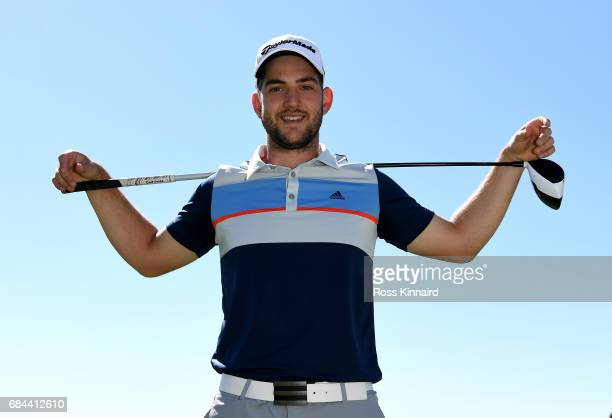Bradley Neil of Scotland poses for a portrait during the first round of Andalucia Costa del Sol Match Play at La Cala Resort on May 18 2017 in La...