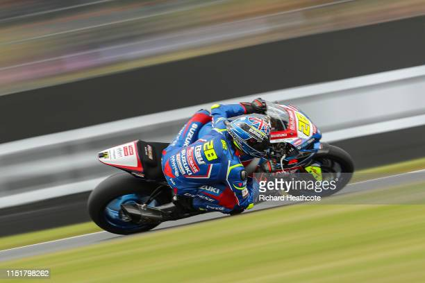 Bradley Ray in action during the Bennetts British Superbike Championship at Donington Park on May 26, 2019 in Castle Donington, England.