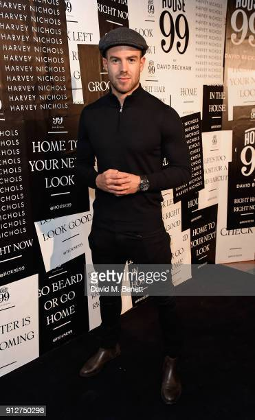 Bradley Simmonds attends House 99 brand launch at Harvey Nichols on January 31 2018 in London England