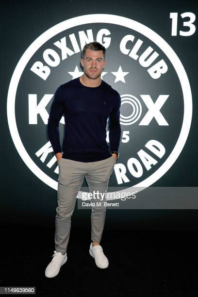 Bradley Simmonds attends KOBOX New Flagship studio launch party on King's Road on May 16 2019 in London England