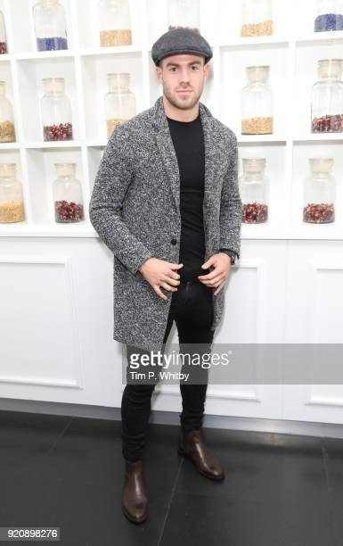 Bradley Simmonds attends Passavant and Lee PopUp Shop and Collection preview at Blind Spot at the St Martins Lane Hotel on February 19 2018 in London...