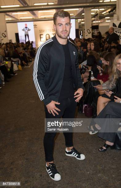 Bradley Simmonds attends Streets of EQT a fashion show celebrating street style at The Old Truman Brewery on September 15 2017 in London England