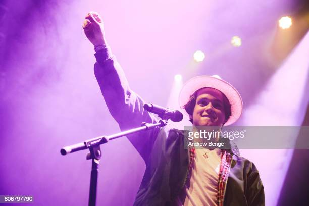 Bradley Simpson of The Vamps performs at O2 Academy Leeds on July 3 2017 in Leeds England