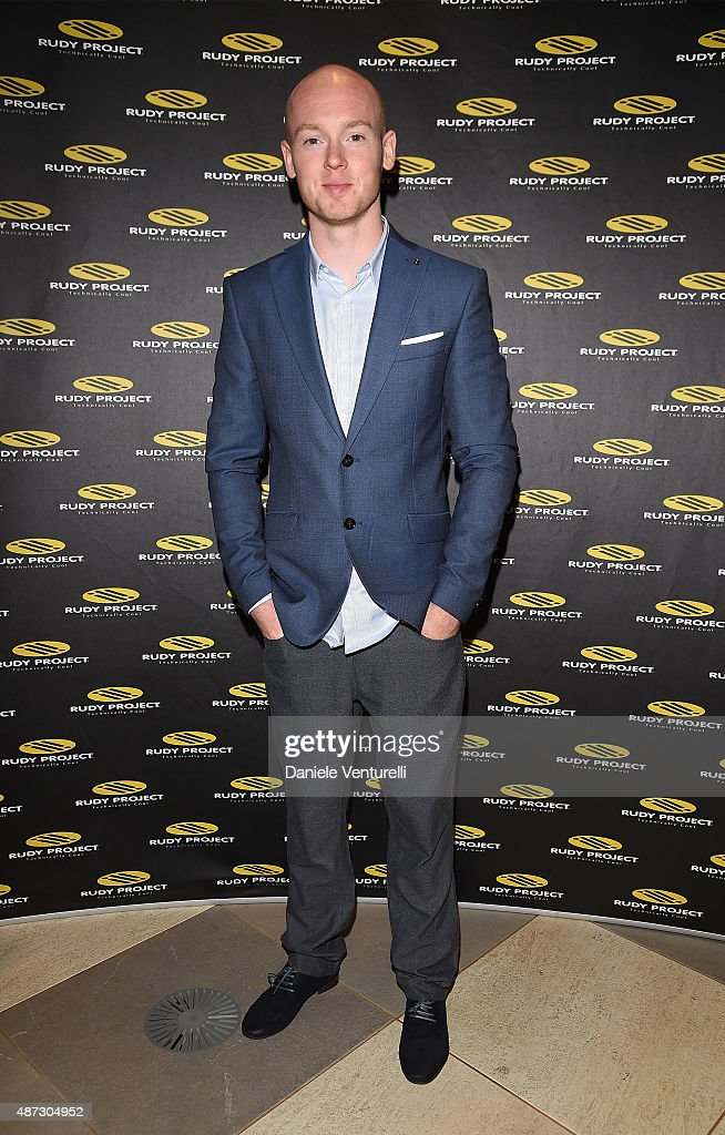 Bradley Smith attends a party for 'Rudy Project' 30th Anniversary Party during the 72nd Venice Film Festival at Granai dell'Hotel Cipriani on September 8, 2015 in Venice, Italy.