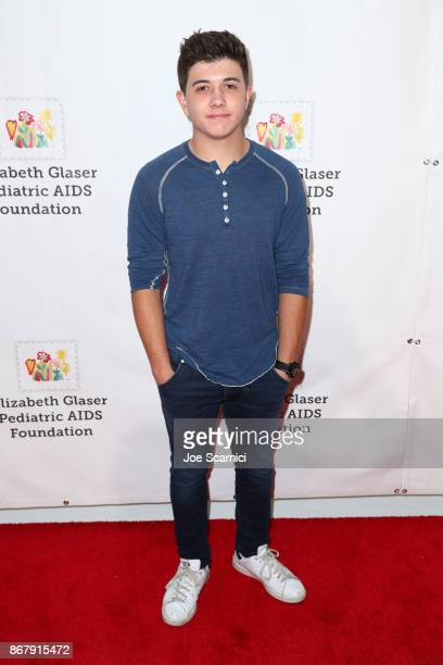Bradley Steven Perry at The Elizabeth Glaser Pediatric AIDS Foundation's 28th annual 'A Time For Heroes' family festival at Smashbox Studios on...