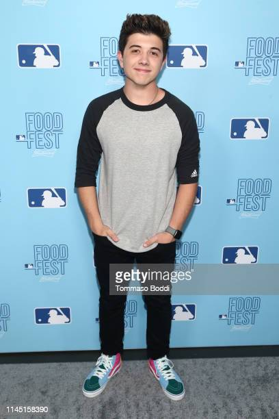 Bradley Steven Perry attends the 2019 MLB FoodFest Special VIP Preview Night at Magic Box on April 25 2019 in Los Angeles California