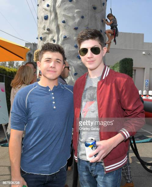 Bradley Steven Perry Mason Cook at The Elizabeth Glaser Pediatric AIDS Foundation's 28th annual 'A Time For Heroes' family festival at Smashbox...