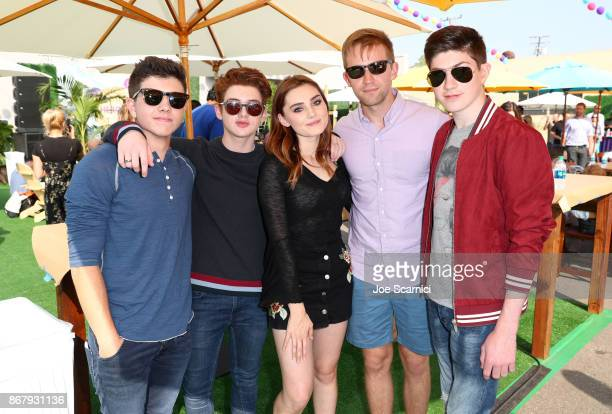 Bradley Steven Perry Thomas Barbusca Meg Donnelly Jason Dolley and Mason Cook at The Elizabeth Glaser Pediatric AIDS Foundation's 28th annual 'A Time...