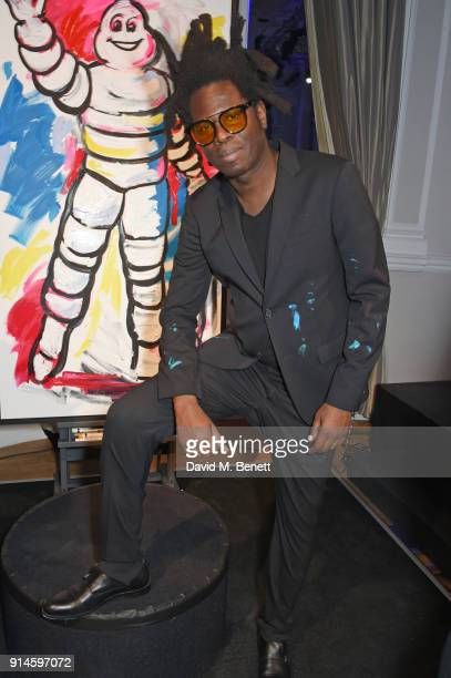 Bradley Theodore attends the GQ Car Awards 2018 in association with Michelin at Corinthia London on February 5 2018 in London England