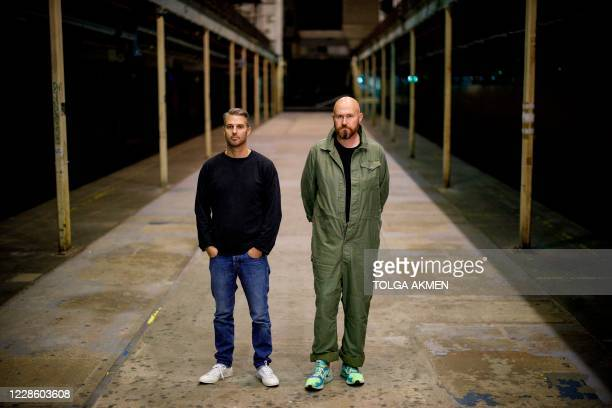 Bradley Thompson and Simeon Aldred , co-founders and co-owners of Printworks nightclub and events venue, pose for a picture at Printworks club in...