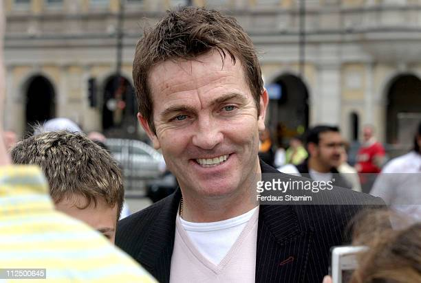 Bradley Walsh during Make A Wish Photocall at Trafalgar Square in London Great Britain