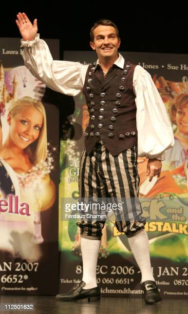Bradley Walsh from Cinderella during Christmas Pantomimes National Press Launch at Picadilly Theatre in London Great Britain